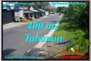 FOR SALE Exotic PROPERTY 400 m2 LAND IN TABANAN BALI TJTB296